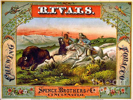 Retro Tobacco Label 1872 d by Padre Art