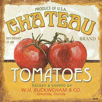 Retro Veggie Labels 4 by