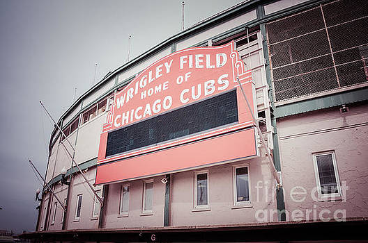 Paul Velgos - Retro Wrigley Field Sign