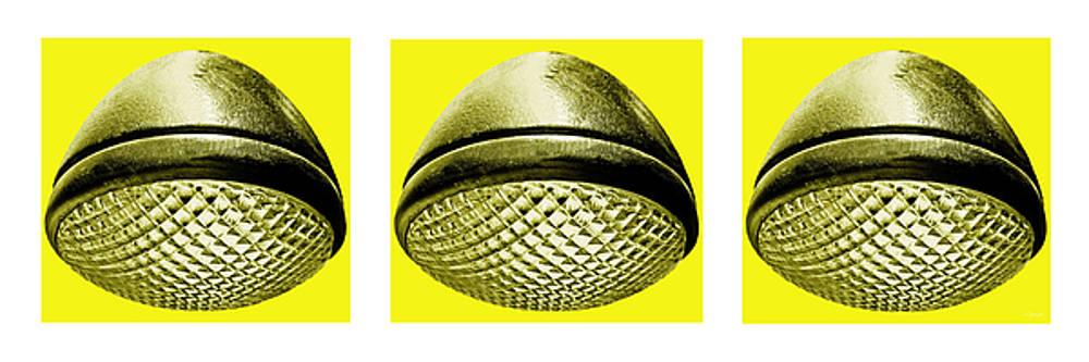 TONY GRIDER - Retro Yellow Headlight Trio