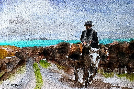 Val Byrne - Returning Home, Doon Beg, Clare