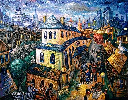 Ari Roussimoff - Returning Home From Synagogue