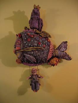 Revenge Sculpture by Kathleen Raven