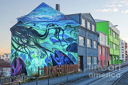 Reykjavik Mural by Jerry Fornarotto
