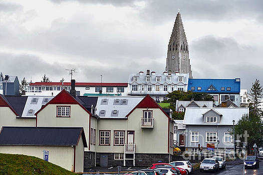 Reykjavik Street by Catherine Sherman