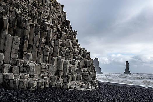 Reynisfjara Iceland by Dean Chytraus