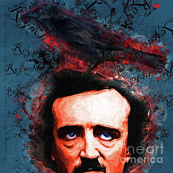 Reynolds I Became Insane With Long Intervals Of Horrible Sanity Edgar Allan Poe 20161102 sq by Wingsdomain Art and Photography