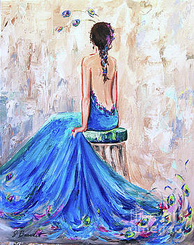 Rhapsody in Blue by Jennifer Beaudet