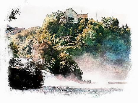 Rhein Falls - Schaffhausen, Switzerland by Joseph Hendrix