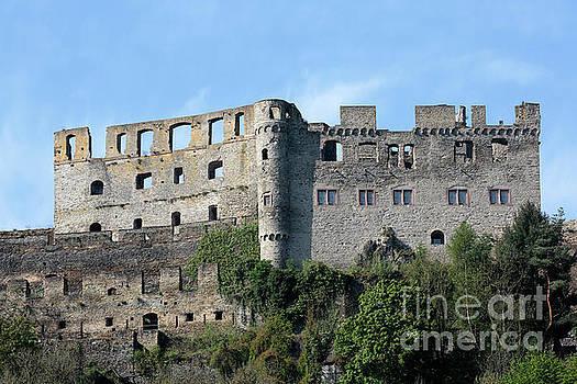 Rheinfels Castle above St Goar Germany by Louise Heusinkveld