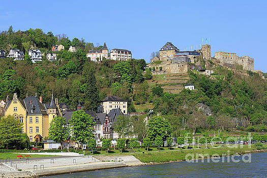 Rheinfels Castle St Goar Germany by Louise Heusinkveld