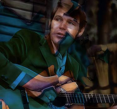 Rhinestone Cowboy Glen Campbell by Marvin Blaine