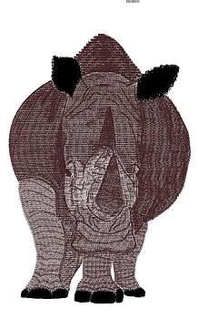 Rhinocerous by Brianna Lynn