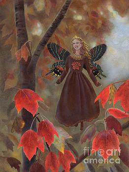 Rhiona in the Maple Tree by Nancy Lee Moran