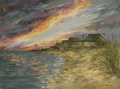 Rhode Island Sunset by E E Scanlon