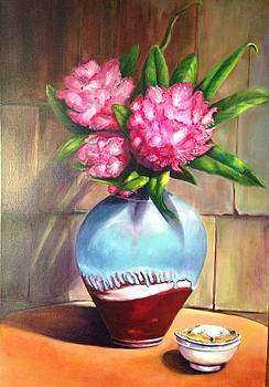 Rhododendrums by Mary Ann Fox