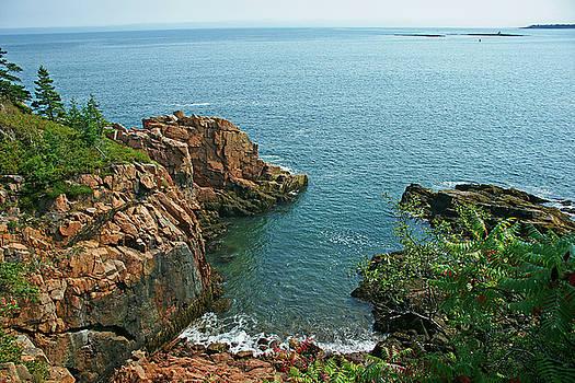 Rhodes Cliff View by Bill Morgenstern