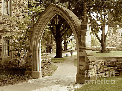 Rhodes College in Memphis Tennessee by Karen Francis