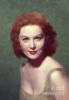 Mary Bassett - Rhonda Fleming, Movie Legend