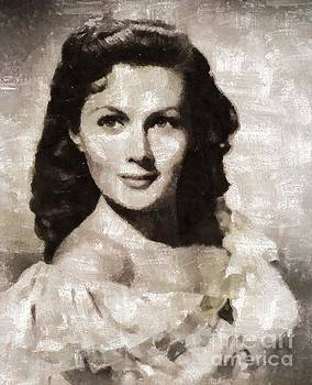 Mary Bassett - Rhonda Fleming, Vintage Actress