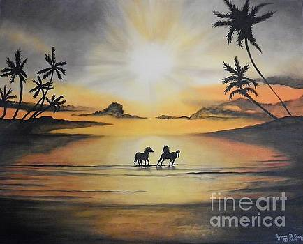 Rhondas Paradise by Yvonne Cacy