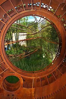 RHS Chelsea Dark Matter Garden by Chris Day