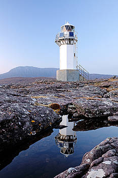 Rhue Lighthouse by Grant Glendinning