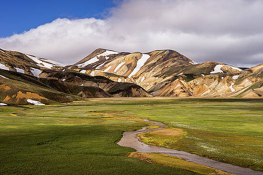 Rhyolit color mountains by Swen Stroop