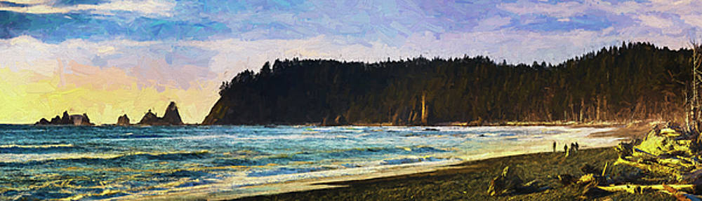 Mike Penney - Rialto Beach Painting