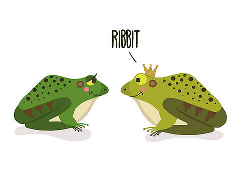 Ribbit Frogs by Nicole Wilson