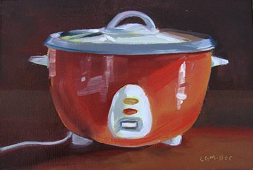 Rice Cooker by Laurie G Miller
