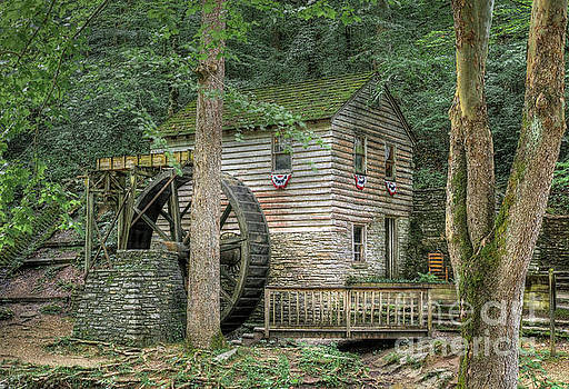 Rice Grist Mill 2017 by Douglas Stucky