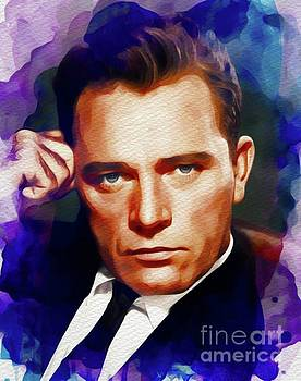 John Springfield - Richard Burton, Vintage Movie Legend