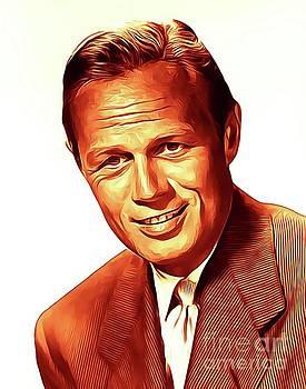 Richard Widmark, Vintage Actor by John Springfield