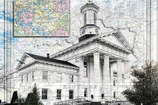 Sharon Popek - Richmond KY Map