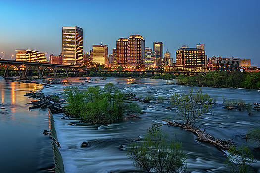 Richmond Twilight by Rick Berk