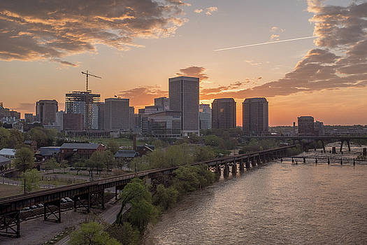 Richmond VA Spring Sunrise by Doug Ash