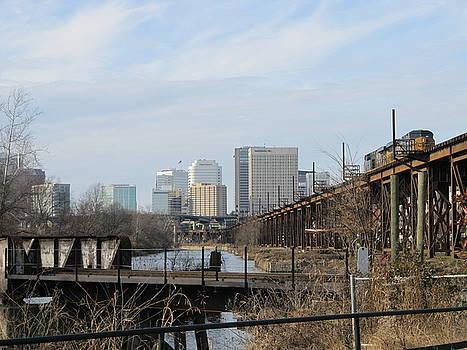 Richmond Virginia Skyline by Digital Art Cafe