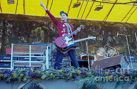 Rick Nielsen of Cheap Trick - Day on the Green 9-2-78 by Daniel Larsen