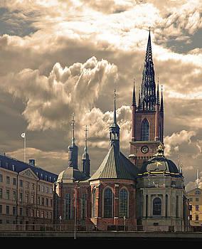 Riddarholm Church - Stockholm by Jeff Burgess