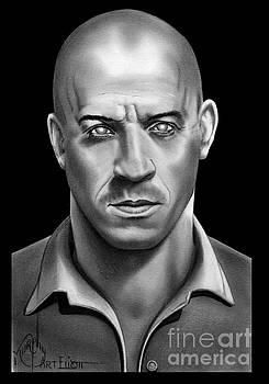 Riddick Vin Diesel by Murphy Elliott