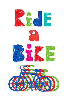 Ride a Bike - sketchy  by Andi Bird