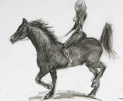 Ride Bareback by Patrick Mills