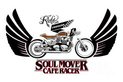 Ride with Passion cafe racer by Sassan Filsoof