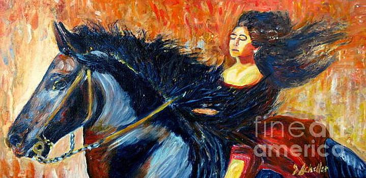 Ride with the Wind by Jodie  Scheller