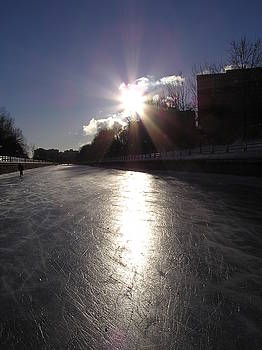 Rideau Canal at Sunrise by Richard Mitchell
