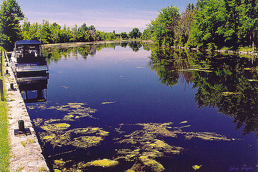Rideau Canal Ontario by Greg Taylor