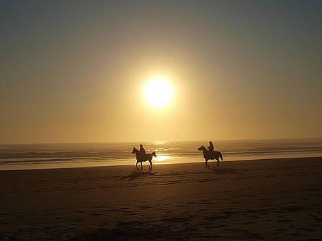 Riders in the Sun by Marta Mannenbach