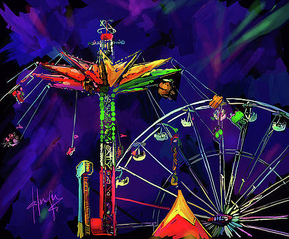 Rides at the Fair by DC Langer