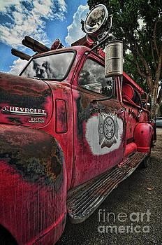 Ridgway Fire Truck by Randy Rogers